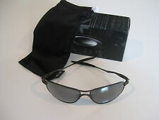 New Oakley Polarized Titanium Crosshair Sunglasses Pewter Polarized OO6014-02