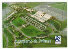 Aeroporto de Palmas Brasil Aviation Postcard, A994