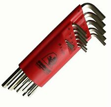 Bondhus 17195 Set of 15 Hex L-wrenches BriteGuard Finish, Extra Long 1.27-10mm