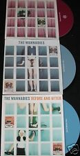 THE WANNADIES Disko/Skin 2 x UK CD singles + Before And After UK 4trk CD sampler