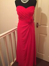 Size 16 Alfred Angelo Pink Bridesmaid / Races / Cruise / Prom Dress / Gown