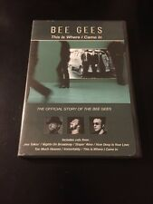 BEE GEES - THIS IS WHERE I CAME IN DVD THE OFFICIAL STORY OF THE BEE GEES