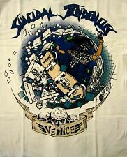 SUICIDAL TENDENCIES cd lgo VENICE SKATER Official White SHIRT XXL 2X new
