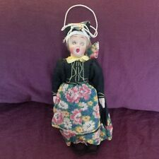 Antique 1930's Lenci Style Felt Doll Made in Italy
