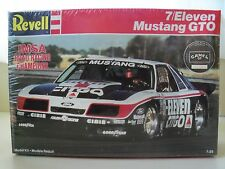 REVELL - 7/ELEVEN - CITGO IMSA / GTO - FORD MUSTANG RACE CAR MODEL KIT (SEALED)
