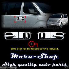 Chrome Door Handle Catch Cover Trim for 07~ Hyundai H-1/iLoad/iMax