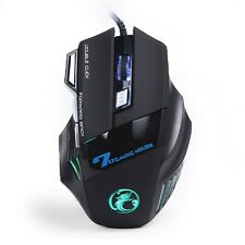 Estone X7 - Gaming Mouse 7 Button Adjustable DPI - Color LEDs Optical USB Wired