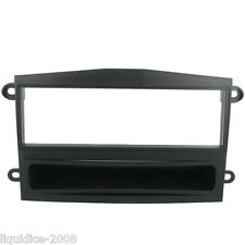 CT24PT03 PROTON SAVVY 2005 ONWARDS BLACK SINGLE DIN FASCIA ADAPTER PANEL