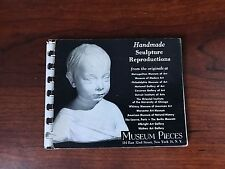SCULPTURE CATALOG FROM MUSEUM PIECES IN NEW YORK, copyrighted 1954