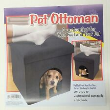 Ottoman Foot Rest Pet House Stool Bed Furniture Cat Small Dog Storage Home NEW