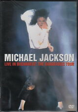 Michael Jackson Live in Bucharest: The Dangerous Tour (1992 DVD) (Brand New)