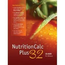 NutritionCalc 3.0 Plus PC CD dietary tools health diet goal track recipe foods!