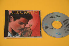 CD (NO LP ) CHET BAKER THE ITALIAN SESSIONS ORIG 1989 CON LIBRETTO TOP JAZZ EX