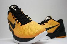 Nike Zoom Kobe VI 6 Del Sol Size 11 - Light Bulb -Yellow Black White- 429659 700