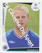 N°446 STEVEN NAISMITH # SCOTLAND RANGERS.FC STICKER PANINI CHAMPIONS LEAGUE 2010