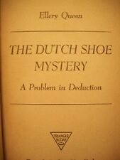 The Dutch Shoe Mystery (Ellery Queen, 1941 Hardcover)