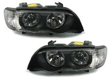 2 FEUX AVANT ANGEL EYES XENON D2S BMW X5 E53 05/2000 A 12/2003
