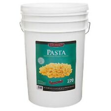 270 Total Servings of Macaroni Pasta Emergency Food Bucket By Chef's Banquet