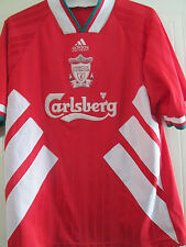 Liverpool 1993-1995 Home Football Shirt Size XL mans jersey /40302
