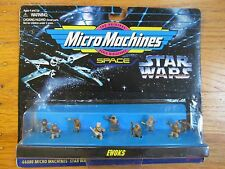 Star Wars Micro Machines SPACE Ewoks New in Original Box 66080 Galoob