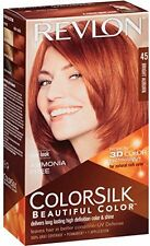 Revlon ColorSilk Beautiful Permanent Hair Color (45) Bright Auburn
