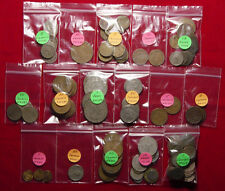 """Lot Of 125 OLD Mexican Coins - L@@K - All From The 60""""s And Older - L@@K"""