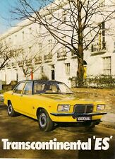 Vauxhall Victor FE Transcontinental ES Limited Edition 1973 UK Market Brochure