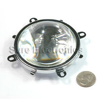 56mm Single Convex LED Acrylic Optical Projector Lens Base Holder Reflection Cup