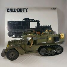 Mega Bloks - 06827 - Call Of Duty - Half-Track Ambush - Original Box - Complete