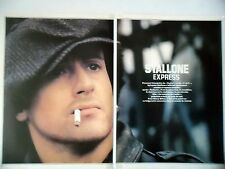 COUPURE DE PRESSE-CLIPPING : Sylvester STALLONE express [5pages] 04/1979