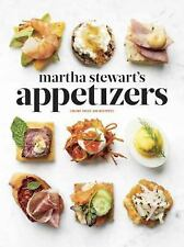NEW Martha Stewart's Appetizers Hardback Hors d'oeuvres Recipe Book