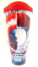 NEW Tervis Marvel Civil War Hot/Cold Tumbler with Red Lid  24-Ounce NWT