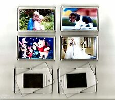 5 BLANK DIY INSERT photo make your own fridge magnets