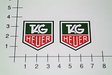Tag Heuer 2 unidades Pegatina Sticker Motorsport Youngtimer retro tuning OEM mi317