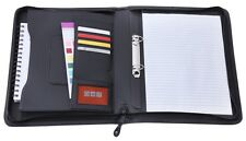 A4 Executive Document Organizer Business Conference Folder Organiser Ring Binder