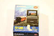 "Vintage CASIO EV-500 LCT Televisión en Color Pantalla TFT Active Matrix 2.5"" PAL"