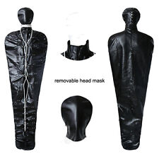 Fashion Faux Leather Full Body Bondage Sleeping Bag Fetish Costume Restraint New