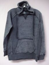 NWOT Women's MV Sports Burn Out Pullover Sweatshirt Hoodie Size S Greys #449G