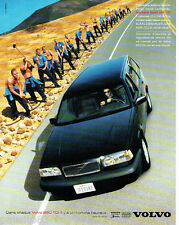 PUBLICITE ADVERTISING 125  1996  VOLVO  la 850 TDI  par D. LACHAPELLE     101215