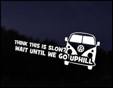 Camper Slow Uphill Car Decal Sticker JDM Vehicle Bike Bumper Graphic Funny