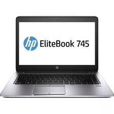 HP EliteBook 745 G2 14 LED  AMD A10 Pro-7150B Quad-core, 8gb, 180gb SSD win7 pro