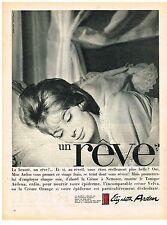 PUBLICITE ADVERSTISING  1961   ELISABETH ARDEN   cosmétiques