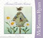 Art Quilt Pattern ~ HOME TWEET HOME - HIGH WRENT ~ Block 7 by McKenna Ryan