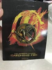 The Hunger Games Katniss Mockingjay Catching Fire Badge Brooch Pin NIB