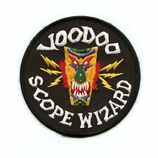 RCAF CAF Canadian CF-101 Voodoo Scope Wizard Squadron Crest Patch
