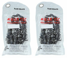 Pack Of 2 Chainsaw Chain 325 Pitch 050 or 1.3mm Gauge 66 Drive link DL GHS 1951