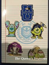 Disney Monsters Inc University Sulley Mike Pin Set of 5 LE 300