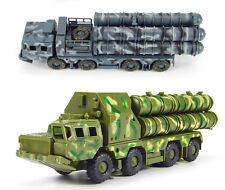 Green Camo 1/72 Scale Russian SA-10 S-300 Grumble Missile System Model Kit 5P85S