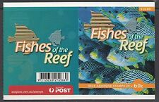 Australia 2010 Fishes of the Reef Gen Booklet ($12) - B454a