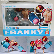 [USED] Figuarts ZERO Franky For The New World One Piece Figure BANDAI Japan